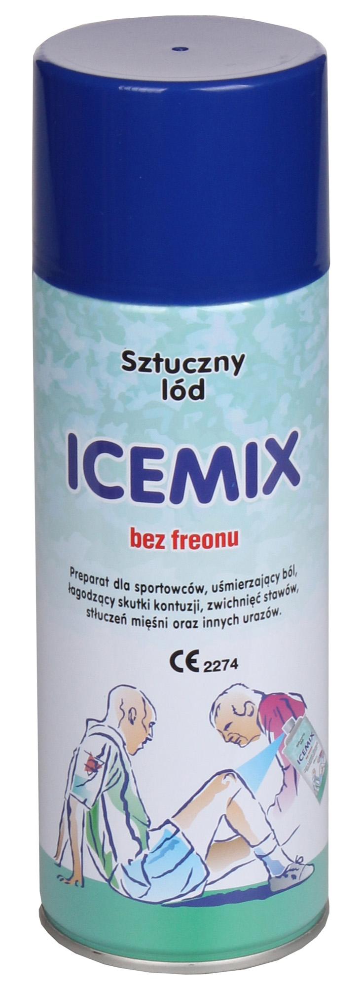 Lód w sprayu