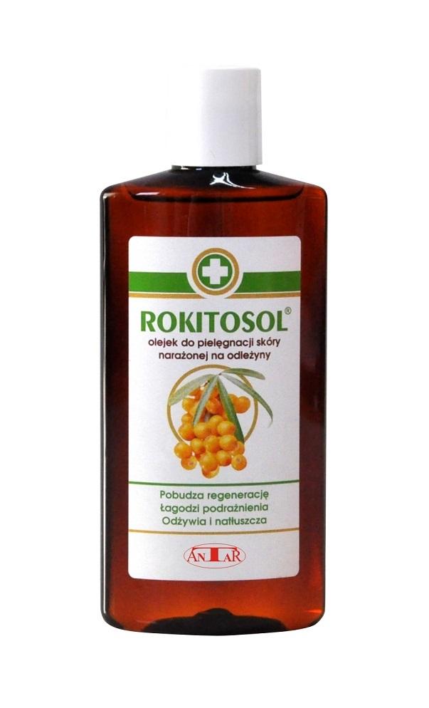 Olejek do pielęgnacji skóry narażonej na odleżyny Rokitosol