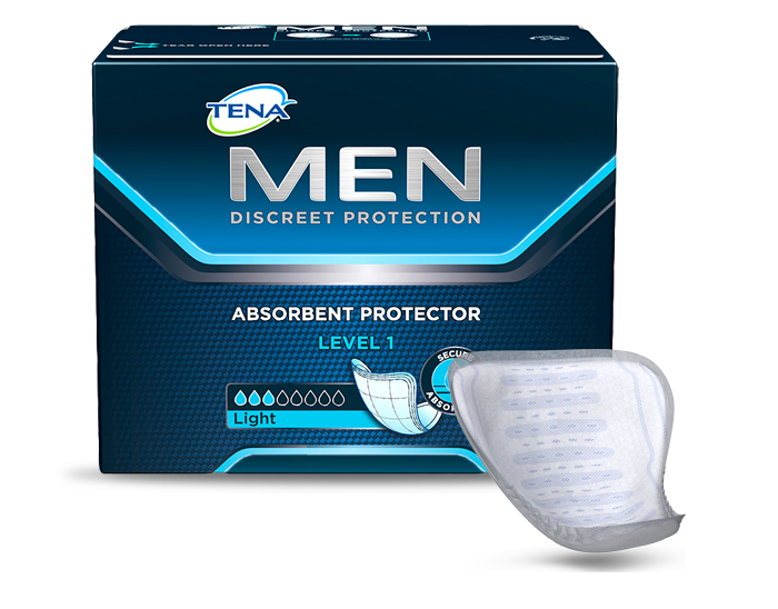 Wkłady męskie anatomiczne, chłonne Tena Men Level 1