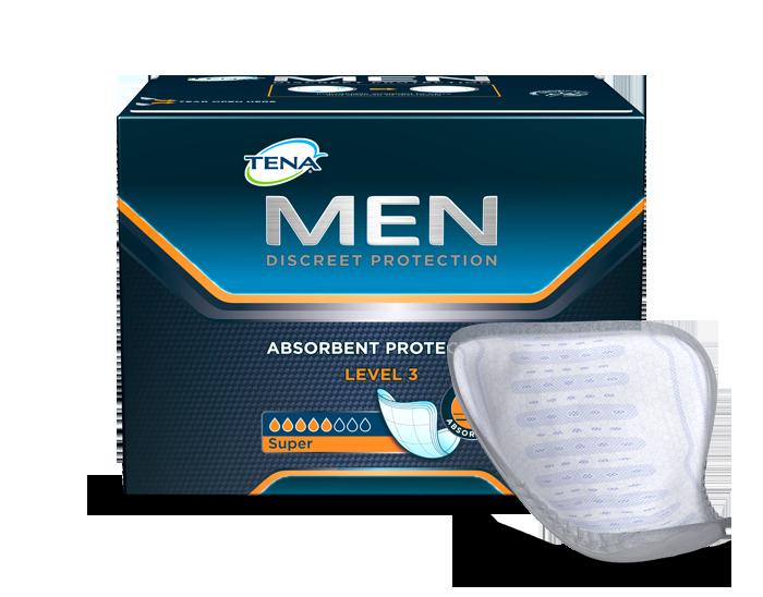 Wkłady męskie anatomiczne, chłonne Tena Men Level 3