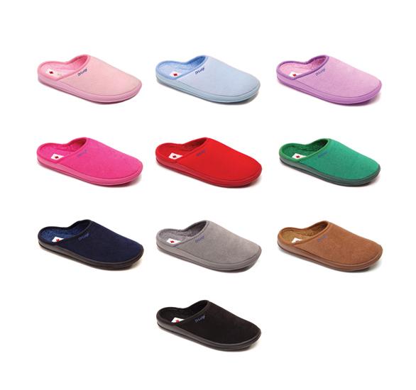 Domowe medyczne obuwie bawełniane PU -01-01-TF