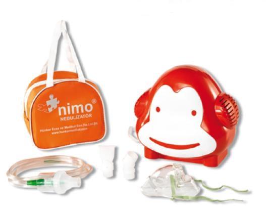 Inhalator tłokowy Nimo Małpka