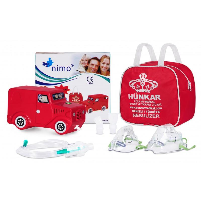 Inhalator tłokowy Nimo Samochodzik