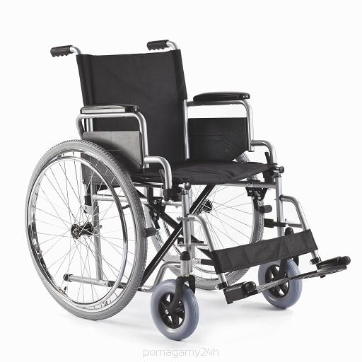Wózek inwalidzki stalowy ręczny Basic