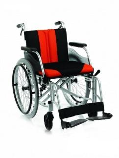 Wózek inwalidzki aluminiowy ręczny c2600