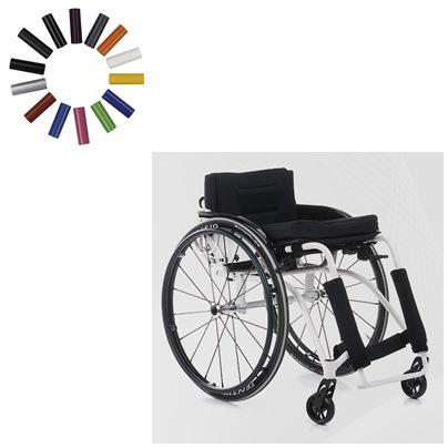 Wózek ze stopów lekkich aktywny She