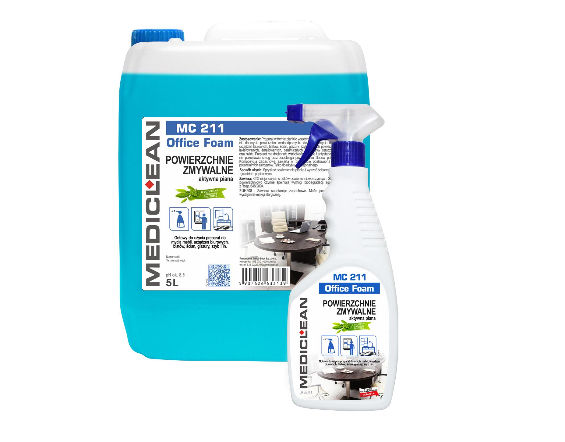 Mediclean MC 211 Office Foam