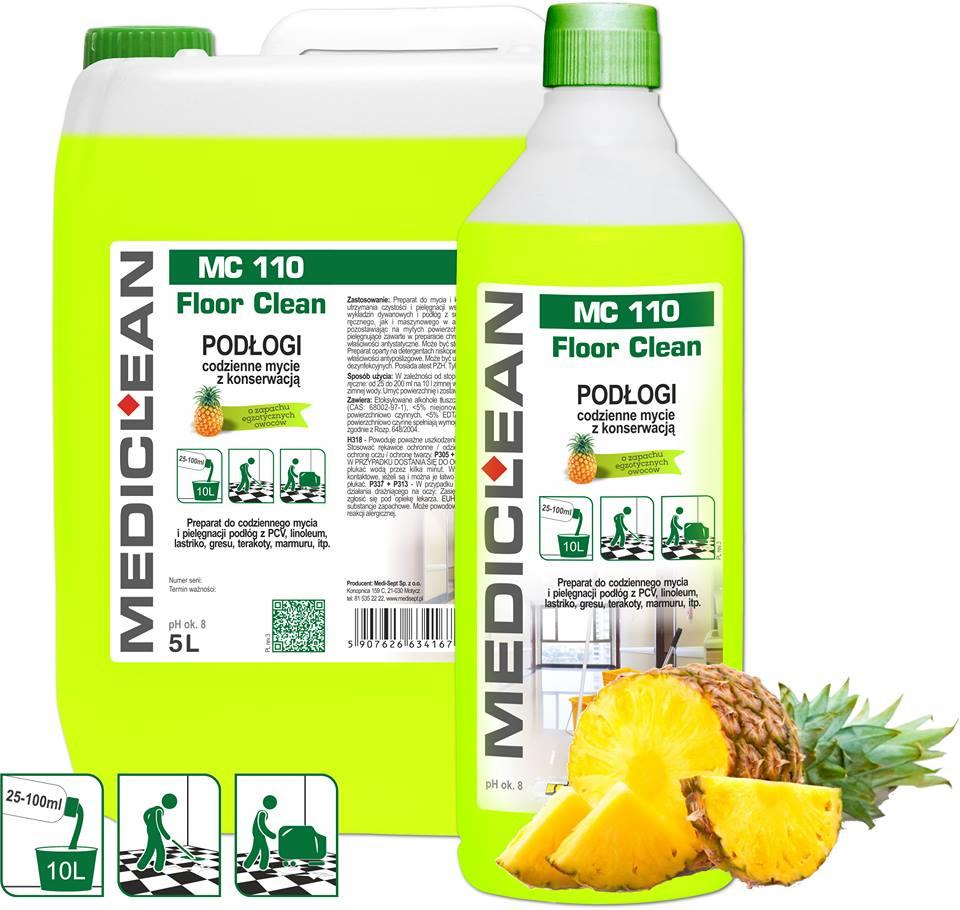 Mediclean MC 110 Floor Clean owoce egzotyczne