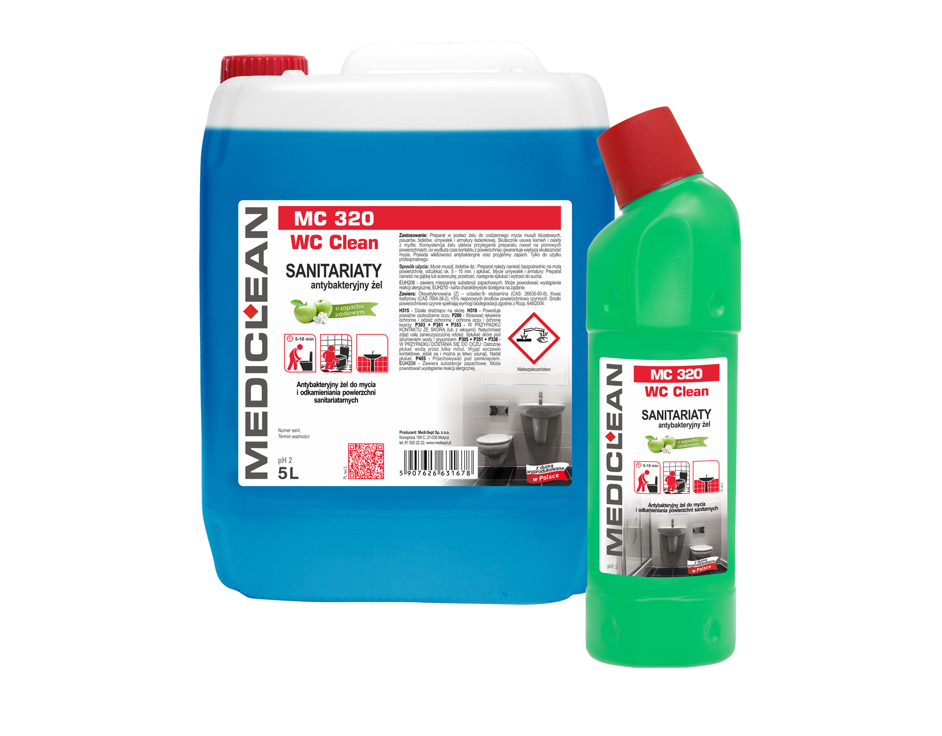 Mediclean MC 320 WC Clean