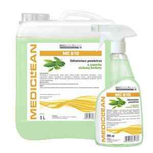 Mediclean MC 610 Fresh Clean zielona herbata