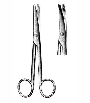 Nożyczki Stevens 11 cm, proste lub zagięte