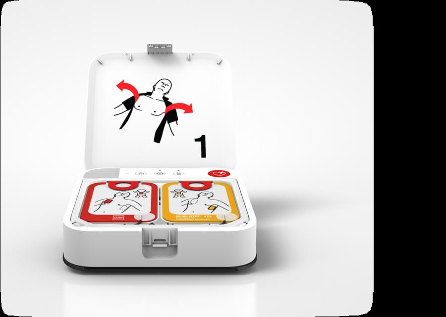 Defibrylator półautomatyczny Lifepak CR2