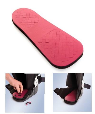 Wkładka odciążająca dla stopy cukrzycowej lub owrzodzonej