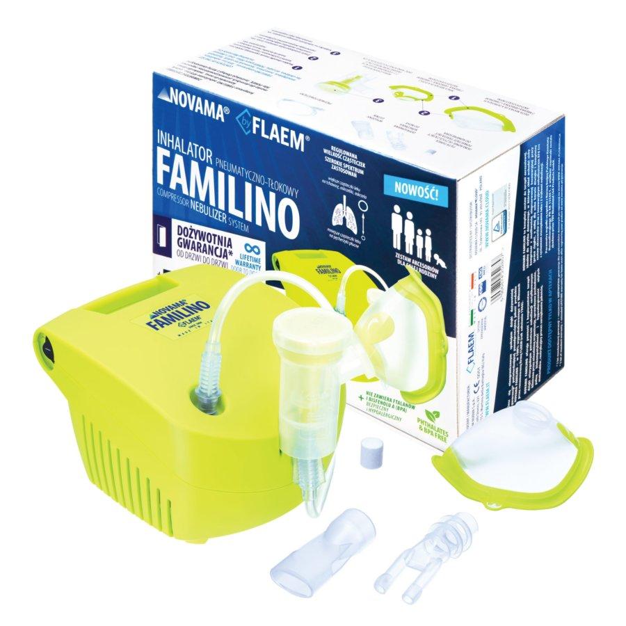 Inhalator pneumatyczno-tłokowy NOVAMA FAMILINO