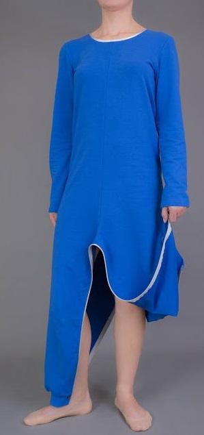 Piżama, pajacyk dla dorosłego rozpinana z tyłu i w kroku